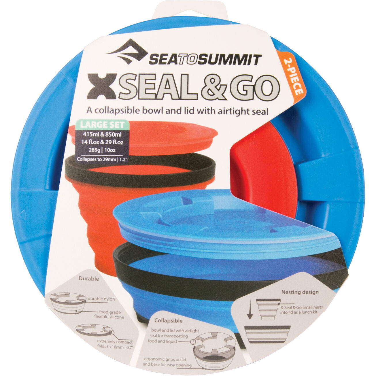 Sea to Summit X Seal & Go Set Large royal bluered