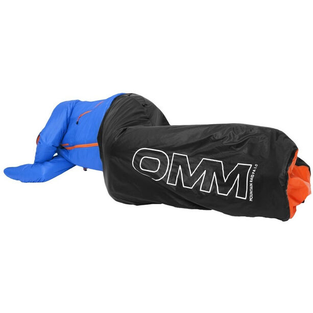 OMM Mountain Raid PA 1.0 Sleeping Bag black/orange