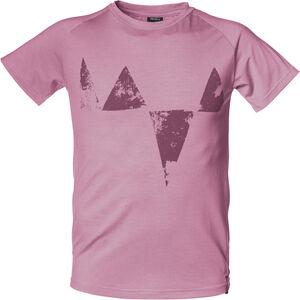 Isbjörn Big Peaks Tee Teens Barn dusty pink dusty pink
