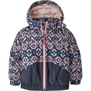 Patagonia Snow Pile Jacket Baby Barn tundra cluster texture/rosebud pink tundra cluster texture/rosebud pink