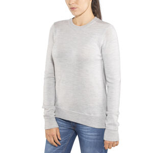 Icebreaker Muster Crewe Sweater Dam steel heather steel heather