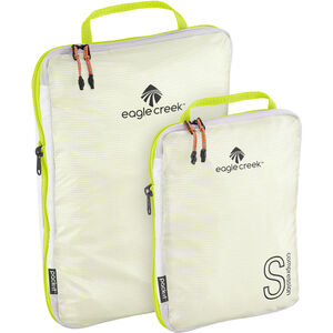 Eagle Creek Pack-It Specter Tech Compression Cube Set S/M white/strobe white/strobe