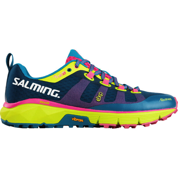 Salming Trail 5 Shoes Dam blue/flou yellow