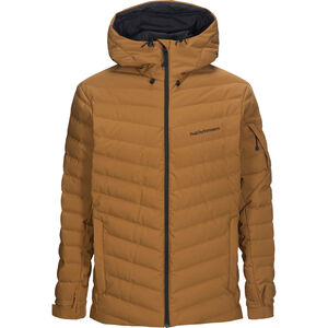 Peak Performance Frost Ski Jacket Herr Honey Brown Honey Brown