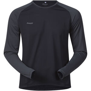 Bergans Slingsby Long Sleeve Herr black/solid charcoal black/solid charcoal