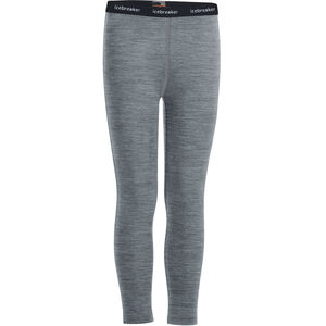 Icebreaker 200 Oasis Leggings Barn gritstone heather gritstone heather