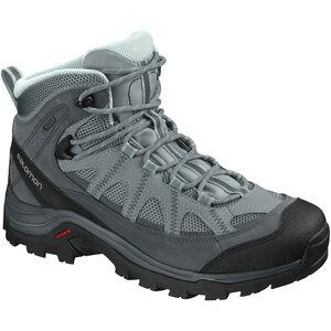 Salomon Authentic LTR GTX Shoes Dam lead/stormy weather/eggshell blue lead/stormy weather/eggshell blue
