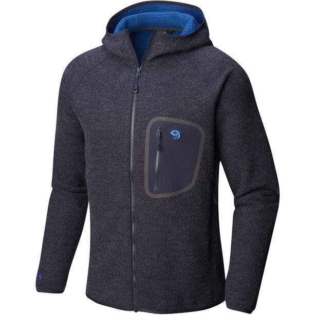 Mountain Hardwear Hatcher Full Zip Hoody Jacket Herr dark zinc