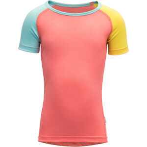 Devold Breeze T-Shirt Barn coral coral