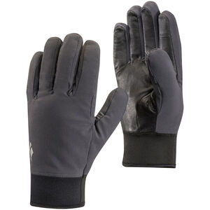 Black Diamond Midweight Softshell Gloves smoke smoke