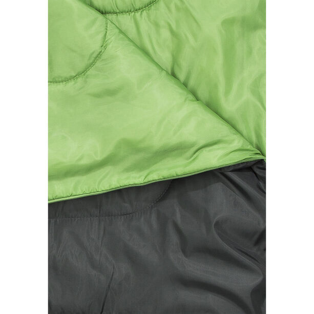 CAMPZ Surfer 400 Sleeping Bag anthracite/green