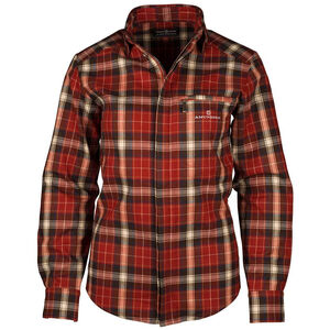 Amundsen Sports Skauen Field Full Zip Shirt Dam red red