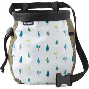 Prana Graphic Chalk Bag with Belt Cargo Green Trees Cargo Green Trees