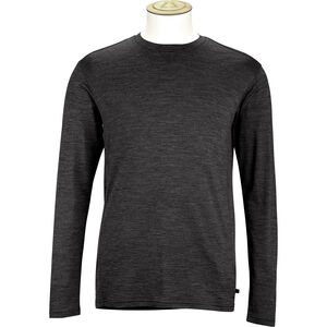 Alchemy Equipment 180GSM Single Jersey Merino LS Crew Herr black black