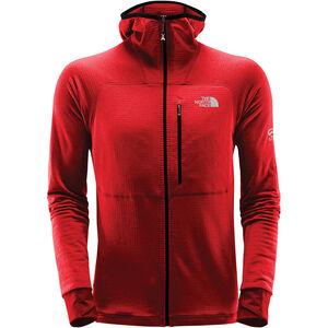 The North Face L2 Proprius Fleece Hoodie Jacket Herr fiery red fiery red