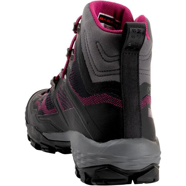Mammut Ducan High GTX Shoes Dam phantom-dark pink