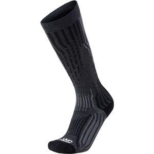 UYN Cashmere Ski Socks Herr grey rock/black grey rock/black