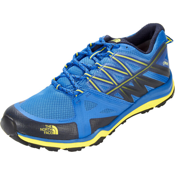 The North Face Hedgehog Fastpack Lite II GTX Shoes Herr blue quartz/blazing yellw