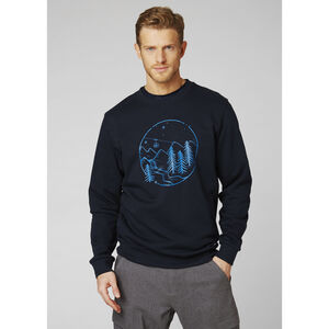 Helly Hansen F2F Cotton Sweater Herr navy navy