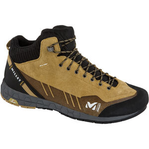 Millet Amuri Dryedge Leather Mid Shoes Herr Olive Olive