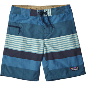 Patagonia Wavefarer Boardshorts Herr fitz stripe/port blue fitz stripe/port blue