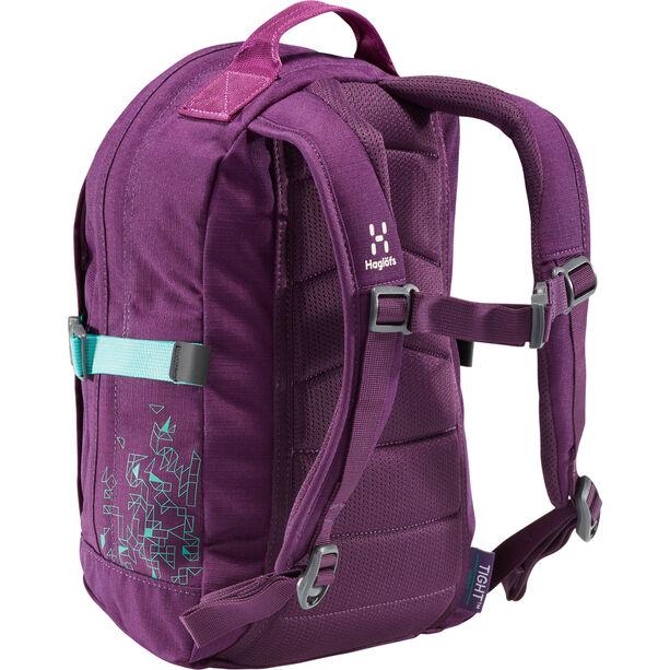 Haglöfs Tight Junior 8 Backpack Barn purple crush/crystal lake