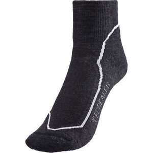 Icebreaker Hike+ Light Mini Socks Dam jet heather/snow/black jet heather/snow/black