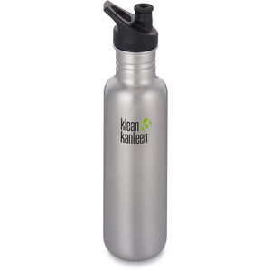 Klean Kanteen Classic Bottle Sport Cap 3.0 800ml brushed stainless brushed stainless