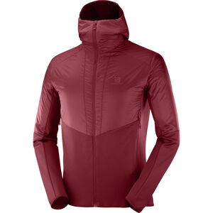Salomon Outline Warm Jacket Herr Biking Red Biking Red