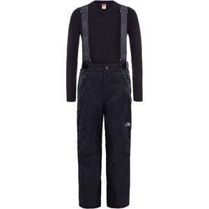 The North Face Snowquest Suspender Plus Waterproof Pants Barn black black