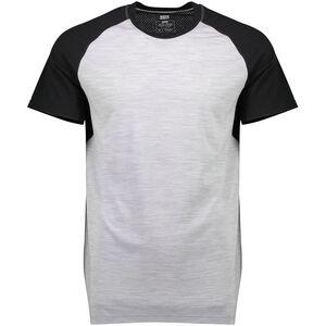 Mons Royale Temple Tech T T-shirt Herr black/grey marl black/grey marl