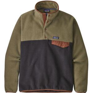 Patagonia Lightweight Synchilla Snap-T Pullover Herr Sage Khaki Sage Khaki