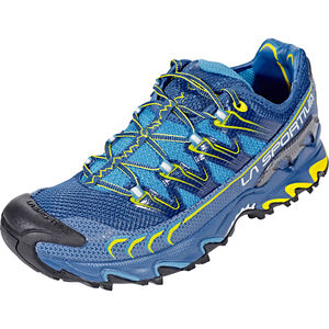 La Sportiva Ultra Raptor Shoes Herr blue/sulphur blue/sulphur