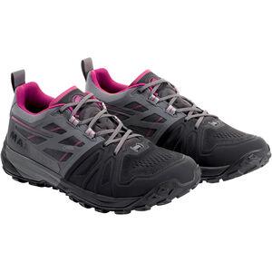 Mammut Saentis Low GTX Shoes Dam black-titanium black-titanium