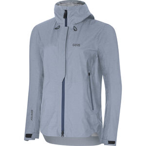 GORE WEAR H5 Women Gore-Tex Active Hooded Jacket Dam cloudy blue/deep water blue cloudy blue/deep water blue