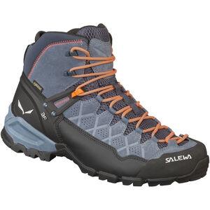 SALEWA Alp Trainer Mid GTX Hiking Shoes Herr ombre blue/fluo orange ombre blue/fluo orange