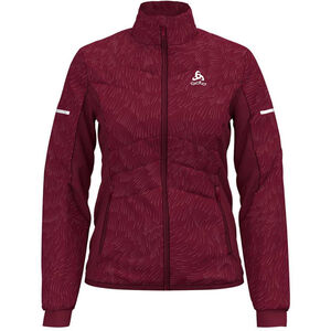 Odlo Irbis X-Warm Jacket Dam rumba red rumba red
