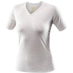 Devold Breeze T-Shirt V-Neck Dam offwhite offwhite