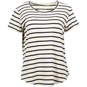 United By Blue Standard Striped SS Pocket Tee Dam blue blue