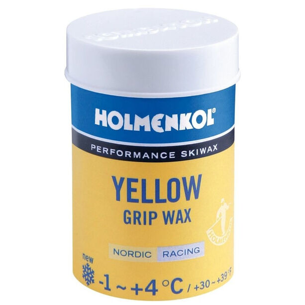 Holmenkol Grip Yellow +4/-1