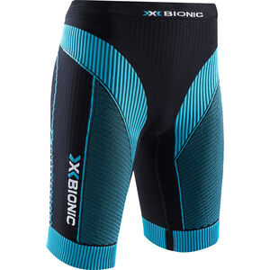 X-Bionic Effektor Power Running Pants Short Dam black/turquoise black/turquoise