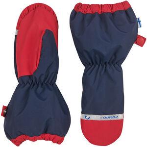 Finkid Pakkanen Outdoor Mittens with Snowcuff Barn navy/red navy/red