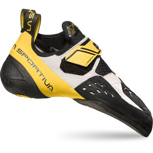 La Sportiva Solution Climbing Shoes Herr white/yellow white/yellow