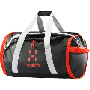 Haglöfs Lava 90 Duffel Bag true black/habanero true black/habanero