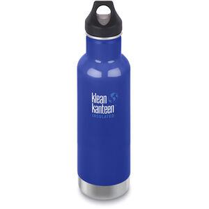 Klean Kanteen Classic Vacuum Insulated Bottle Loop Cap 592ml coastal waters coastal waters