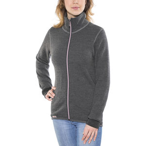 Woolpower 400 Full Zip Jacket Colour Collection grey/rose grey/rose