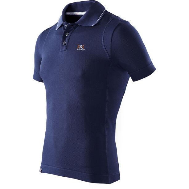 X-Bionic Travel Polo Shirt SS Herr blue marine