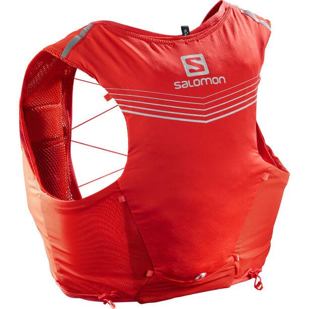 Salomon Adv Skin 5 Backpack Set Herr fiery red