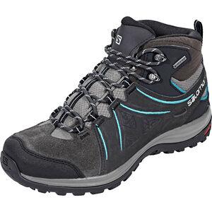 Salomon Ellipse 2 Mid LTR GTX Shoes Dam phantom/castor gray/aruba blue phantom/castor gray/aruba blue