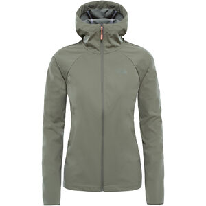 The North Face Inlux Softshell Hoodie Dam deep lichen green deep lichen green